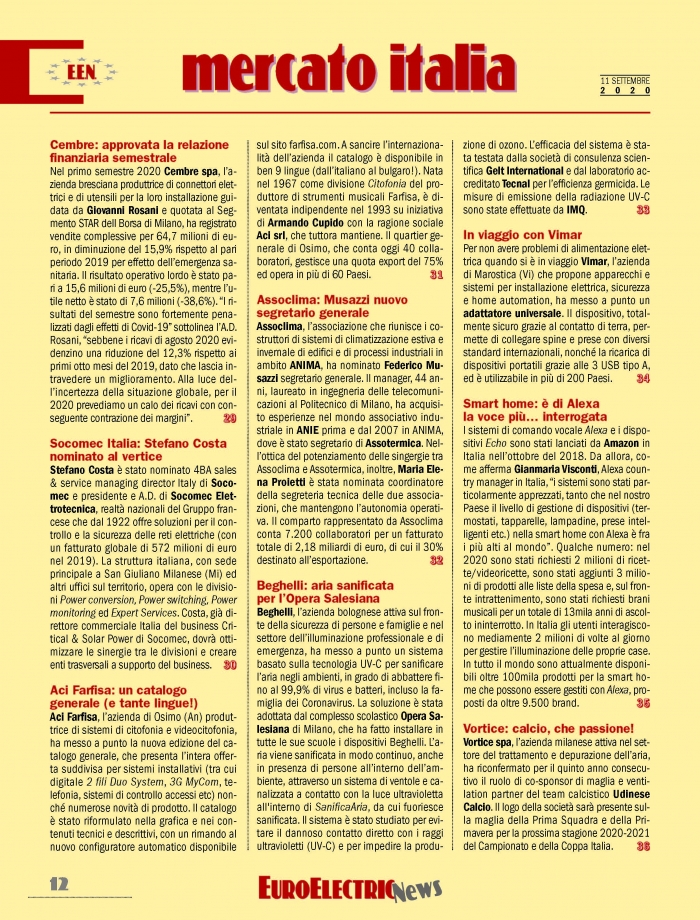 Aci Farfisa: un catalogo generale (e tante lingue!)