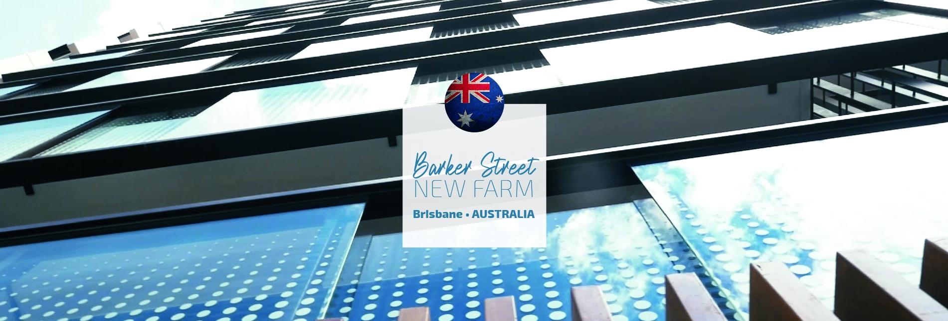 BarkerSt, New farm, Brisbane, Qld Australie
