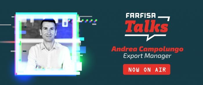 Farfisa Talks: Andrea Campolungo s'exprime