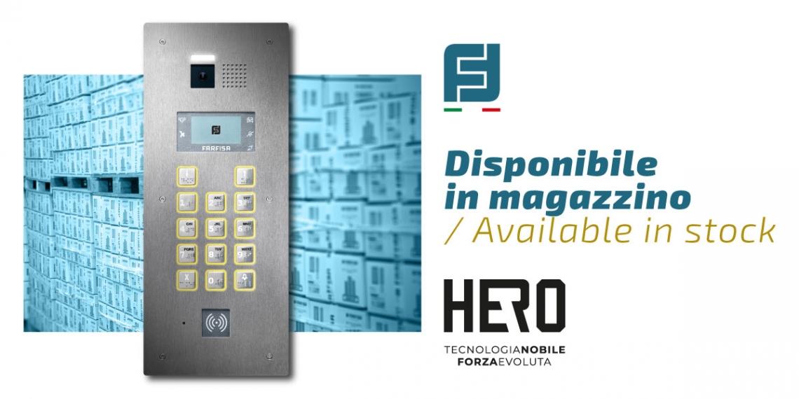 Hero está disponible en stock!