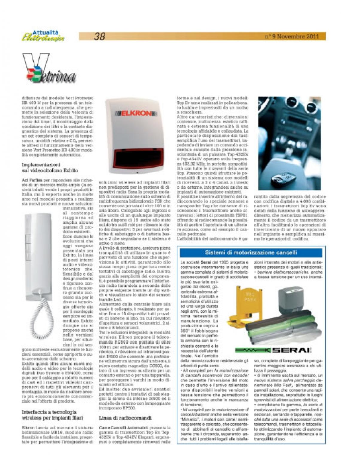Implementazioni videocitofonia Exhito