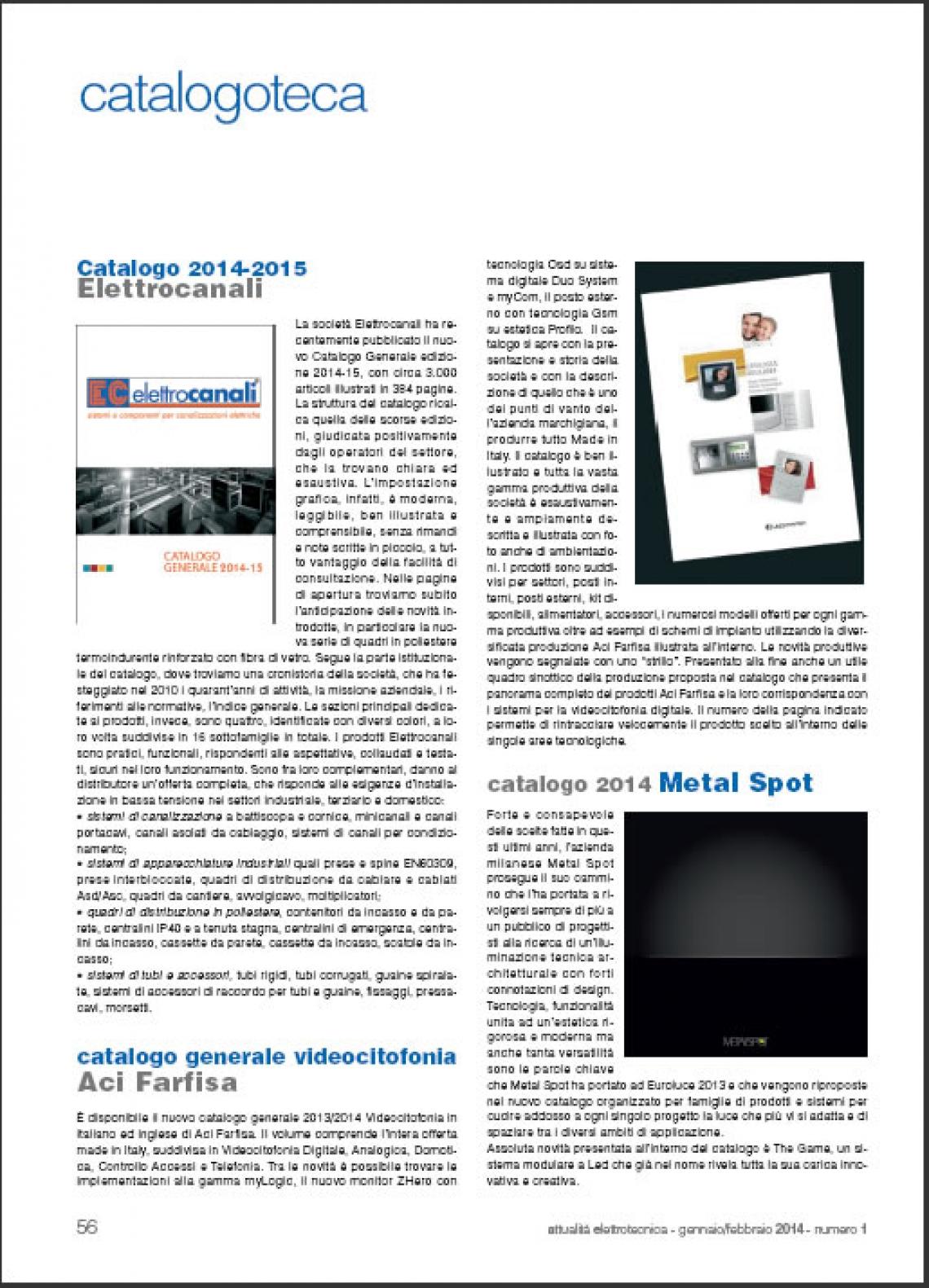 Nuovo catalogo generale