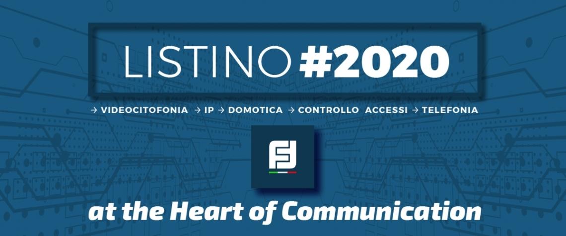 Nuovo listino Italia 2020