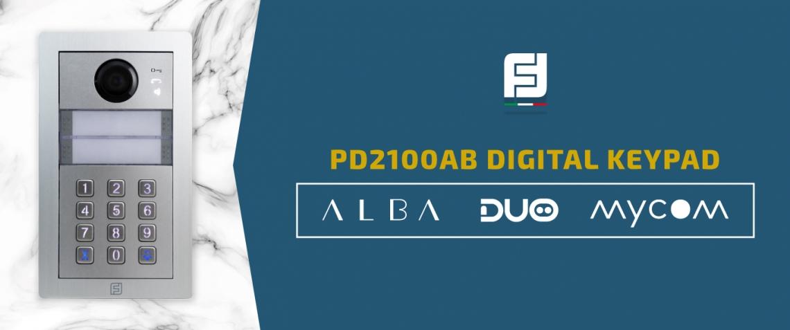 Nuovo teclado digital TD2100AB