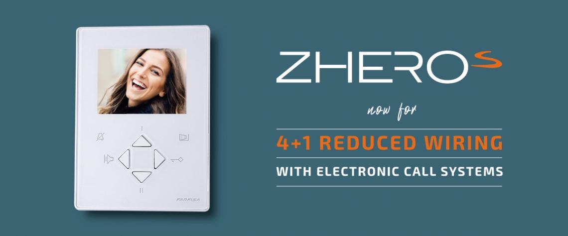 Nuovo videocitofono ZHeroS per 4+1
