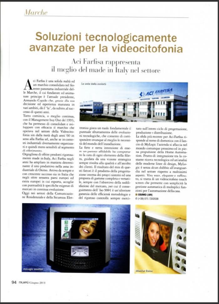 Soluzioni tecnologicamente avanzate per la videocitofonia