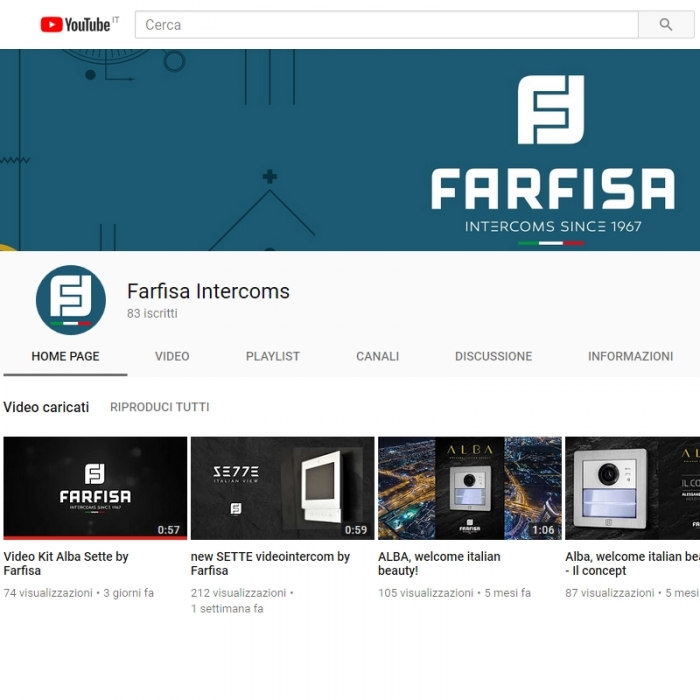 Suivez notre chaîne Youtube