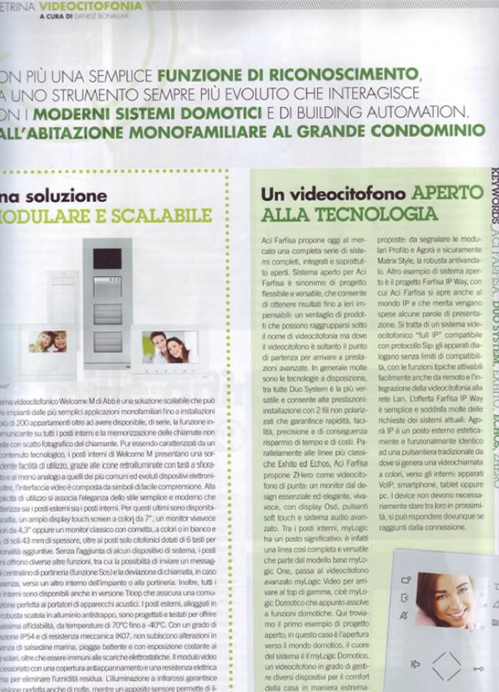 Videocitofonia aperta alla tecnologia
